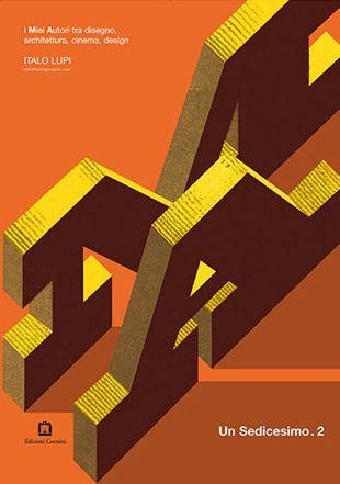 """Italo Lupi, i Miei Autori, copertina """"Un Sedicesimo"""" #2, 2008"""