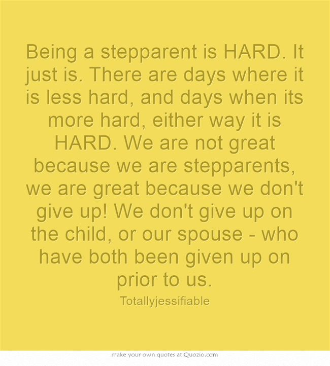 I agree with all of this except the second part of the last sentence. I don't see anyone giving up on the child.