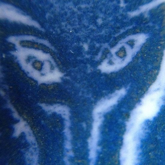 Ceramic Glass Eyes - John Bauer