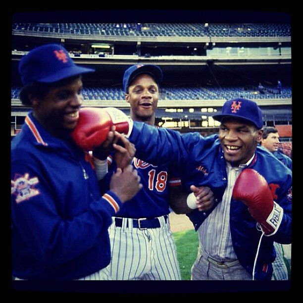 """Me, Dwight Gooden & Darryl Strawberry"""