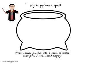 Harry Potter themed emotional literacy???? Someone who used to be Evan's teacher must have made this. I mean, seriously.