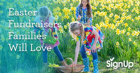 Easter is the perfect opportunity to tie in your fundraising efforts for the spring season! Family-focused fun paired with sweet fundraising success gets your group the important funds they need for spring while providing Easter fundraisers families will