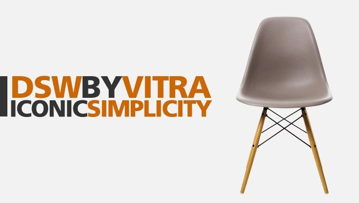 DSW by Vitra: simplicity becomes a Design Icon - The Eames Plastic Chair / DSW, designed by Charles & Ray Eames, is one of the most appreciated interior design icons worldwide. A chair for everyone, with a story to tell. Discover more on our magazine!
