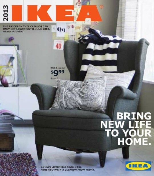 1950s style wing back chair.  I need 4.    CANT WAIT FOR IKEA 2013!: Decor, Chair, Interior, 2013 Catalog, Design Ideas, Ikea Catalog, Catalog 2013, Ikea 2013