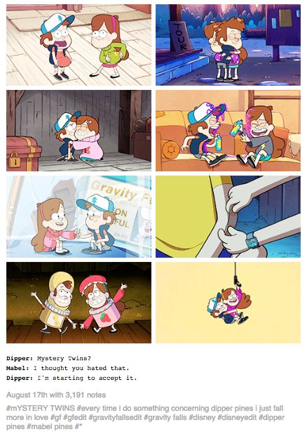 From notkorra's tumblr. --> Seriously, Dipper Pines is, in my opinion, one of the best Disney cartoon characters out there. He's brave, awkward, doofy, kind, and most importantly self-sacrificing. He goes above and beyond for Mabel. From breaking up with Gideon for her, to putting a bandage on her arm in Summerween (one the sweetest moments between them two), he always has her back. He even fought Gideon to save her. It makes me wish there was a real guy like that. It's hard not to love…
