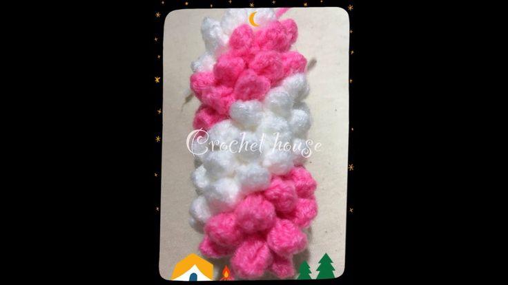 วิธีถักพวงมาลัยโครเชต์ มาลัยเกลียว How to crochet garland