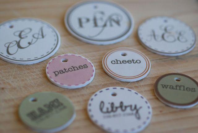 { the vintage wren }: :: pet tags