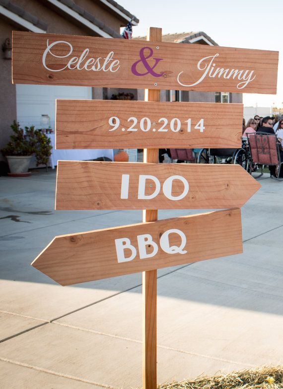 Hey, I found this really awesome Etsy listing at https://www.etsy.com/listing/213651188/wood-4-tier-wedding-direction-sign