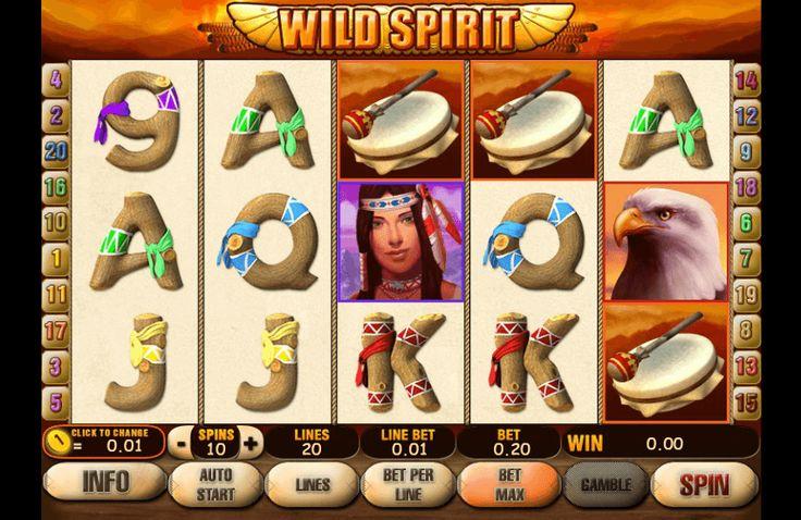 Играть на игровом слот автомате Дикий Дух онлайн