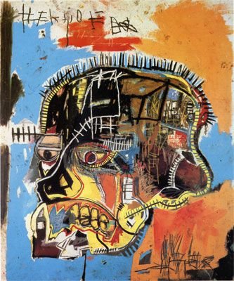 Jean-Michel Basquiat (1960–1988) 1984 Untitled (Skull)