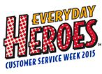 Customer Service Week 2015 Logo