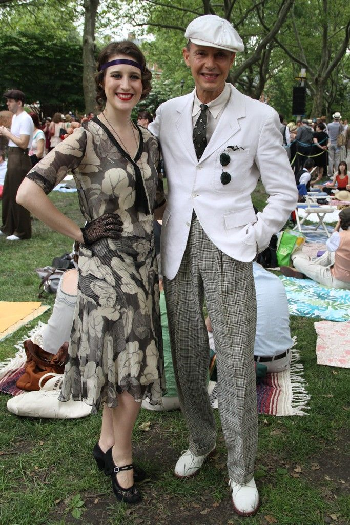 They Are Wearing: Jazz Age Lawn Party on Governors Island - WWD.com