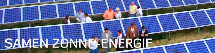 Samen zonne-energie: EnergieCooperatie 070 in 's-Hertogenbosch.