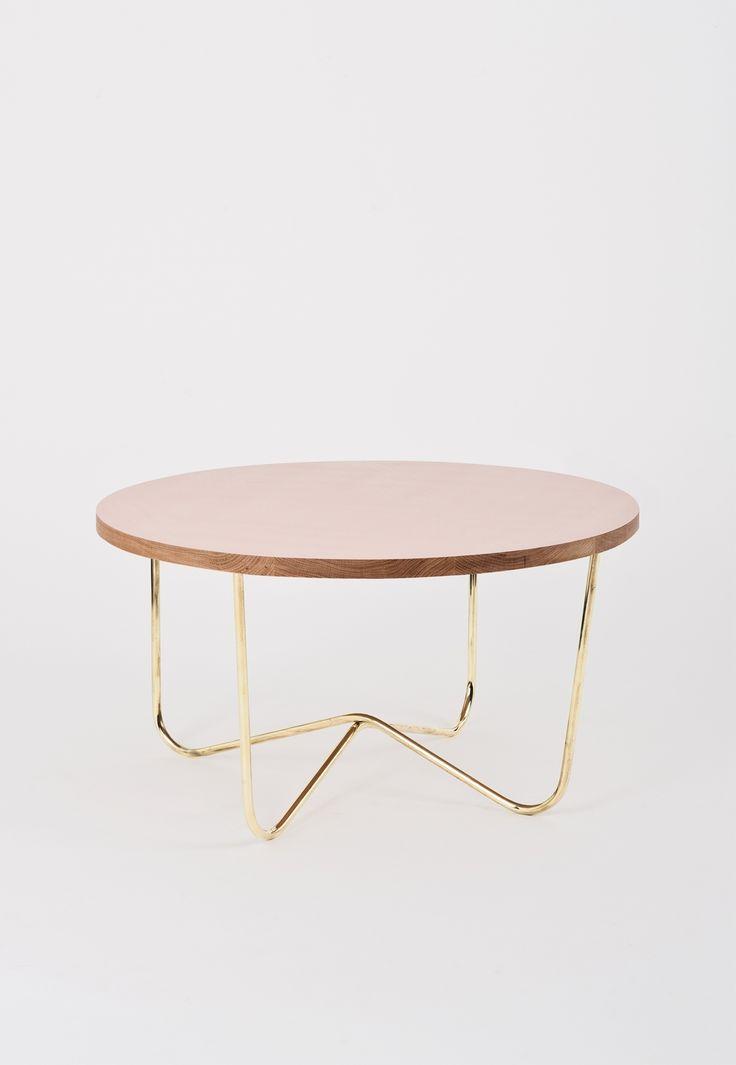{ cross brass coffee table }