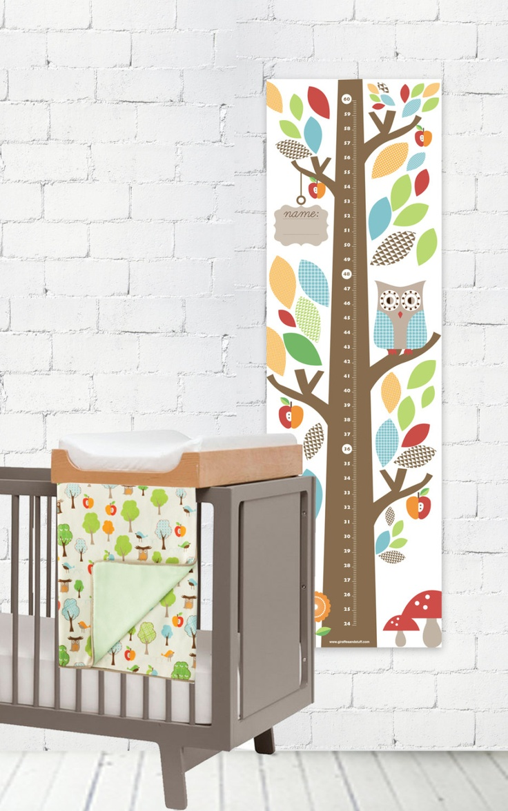 227 best images about kids rooms on pinterest ruler for Growth chart for kids room