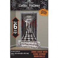 Scene Setter Cutout Gothic Hallway Pkt2 $10.95 A673031
