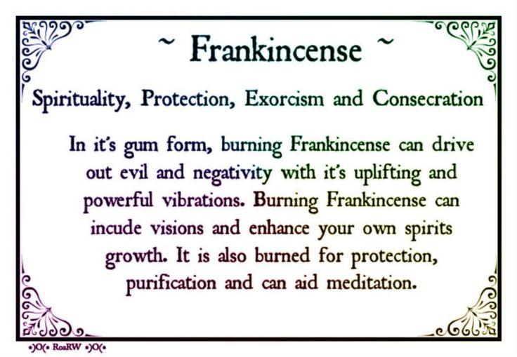 .Spiritual Herb | Frankincense     http://www.psychicreadinglounge.com