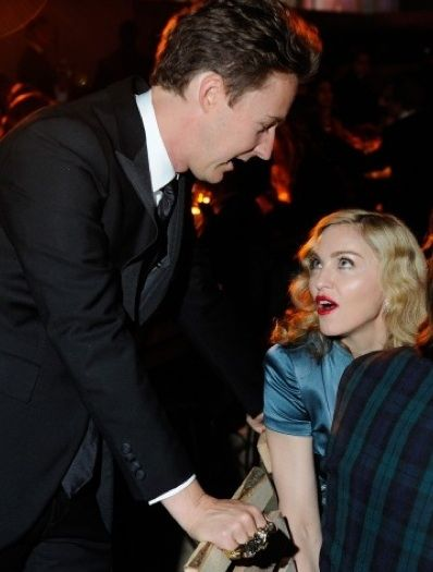 Edward Norton and Madonna