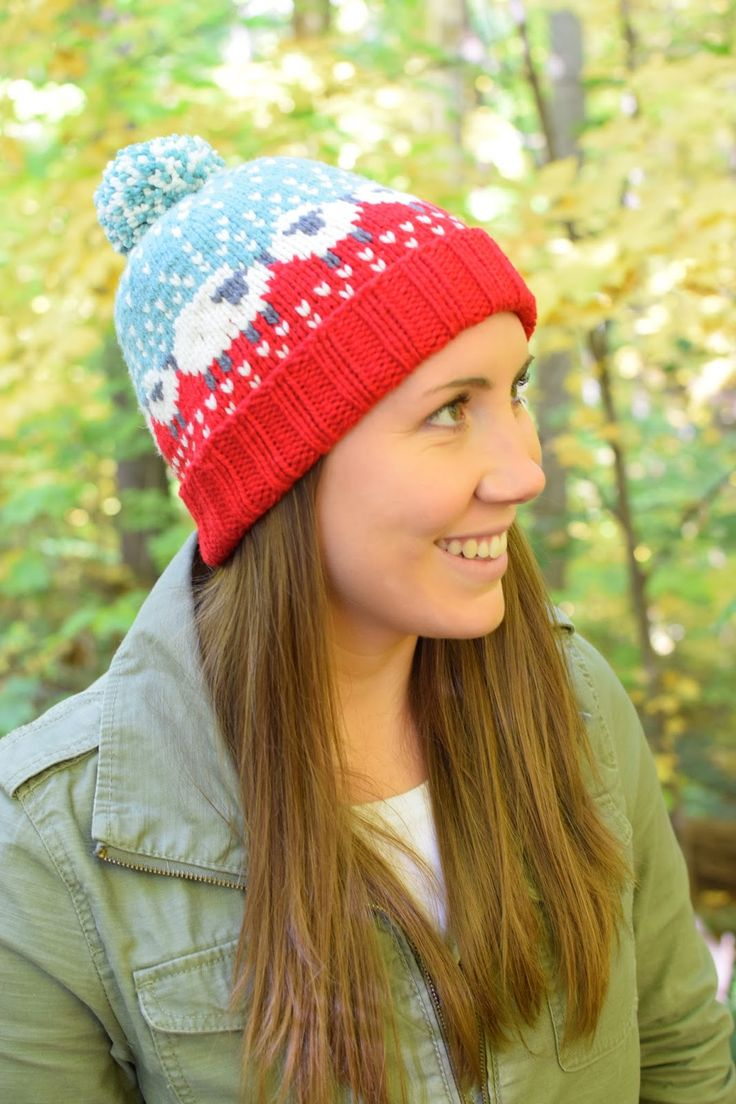 333 best knit crochet hats with color pattern images on baa ble hat free pattern note modifications on susan b anderson website bankloansurffo Choice Image