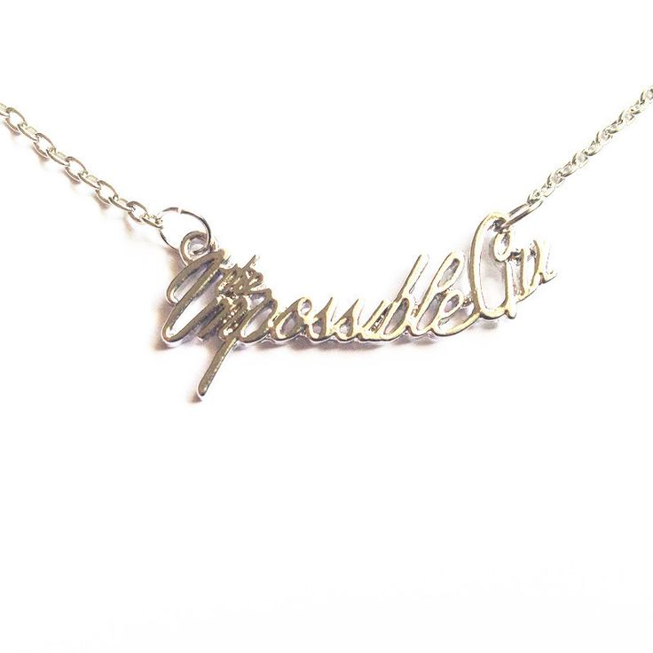 Doctor Who Inspired The Impossible Girl Necklace