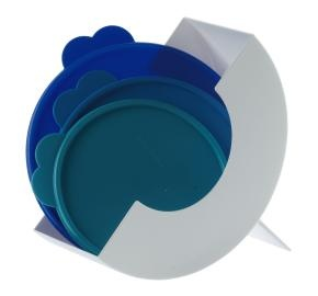 Short on space and need to find your Tupperware Seals or your set of Flat-Outs The Seal Keeper can be screwed to a wall or inside cabinet door or stand alone for cabinet or counter or both