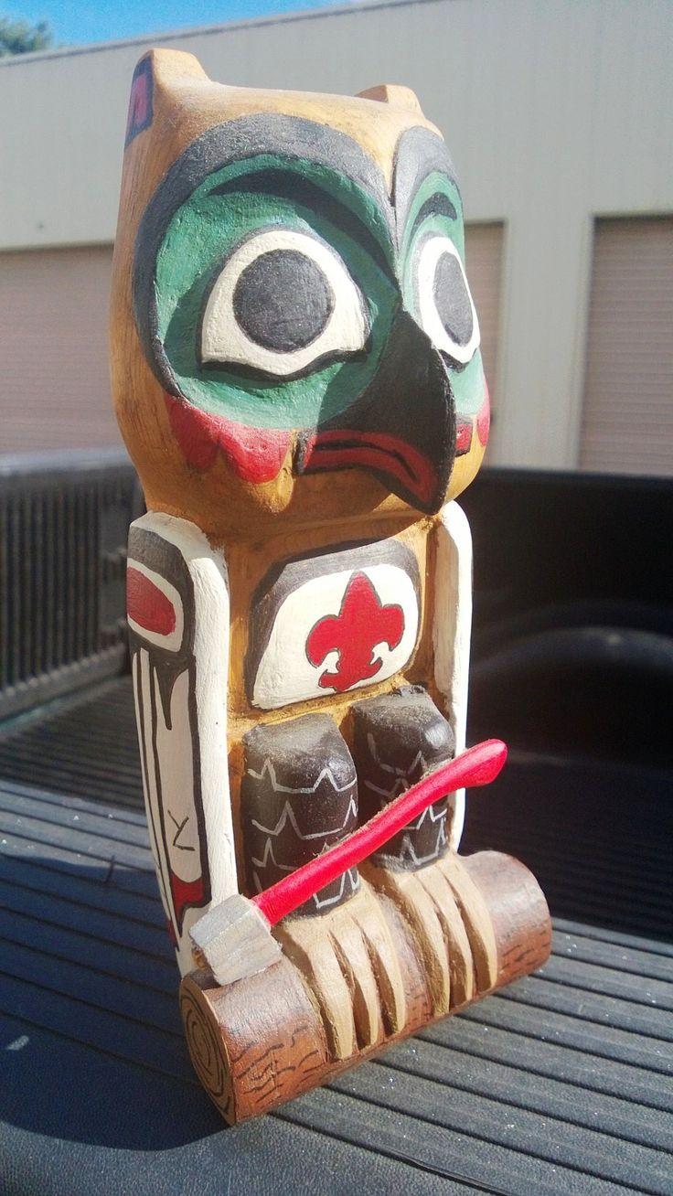 Owl greeting card set welsh artist jen delyth celtic art studio - Boy Scout Woodbadge Owl Patrol Totem Ne Ii 100 Sept 1999
