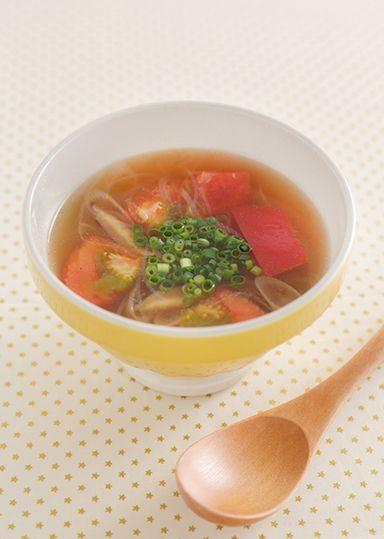 トマト酸辣湯のピリ辛スープ のレシピ・作り方 │ABCクッキング ... ほどよい酸味がくせになるピリ辛スープ。 緑豆春雨を使ってボリューム感を出し、1杯で満足感が得られます。 夏らしくトマトをたっぷり使い、代謝アップに効果的な1品 ...