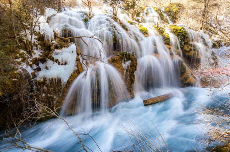 waterfall#Jiuzhaigou