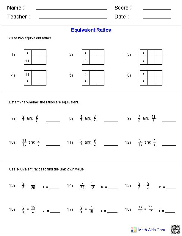 6th grade math ratio worksheets math lessons for 6th graders educational activitiesknack. Black Bedroom Furniture Sets. Home Design Ideas