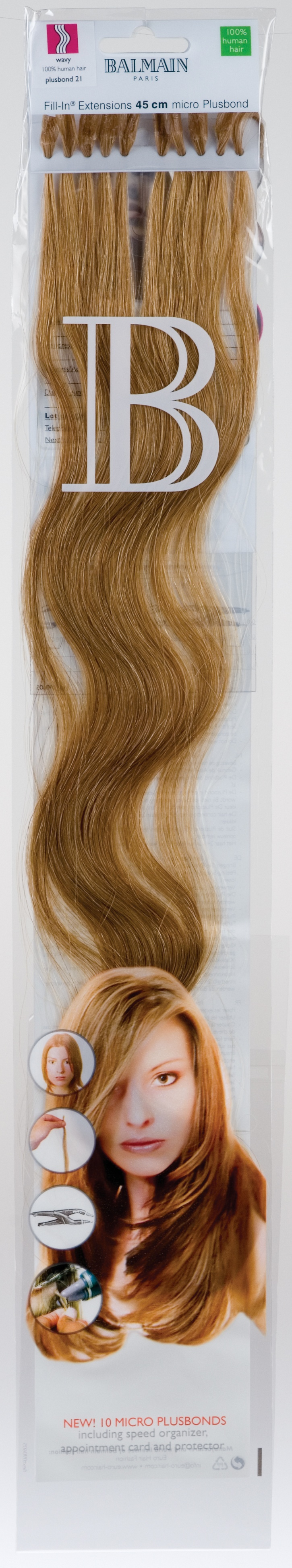 Fill-in Extensions of Balmain Hair