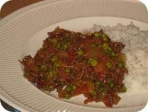 Everyday Curried Beef Mince