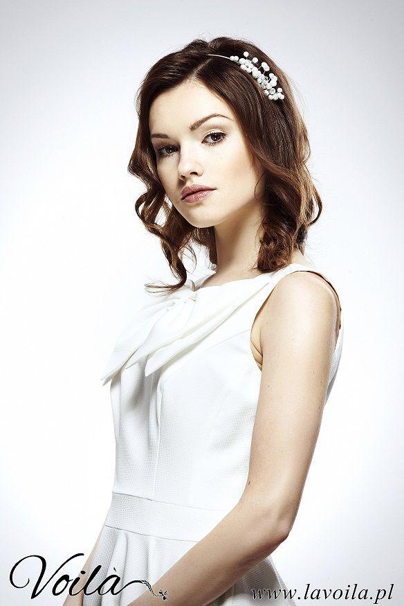 Urocza panna młoda od Voila! #haircut for wedding #fryzury #ślub
