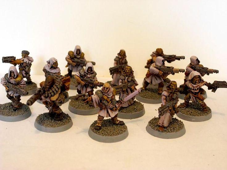 Cawdor, Chaos, Cultists, Necromunda, Redemptionists, Slaanesh