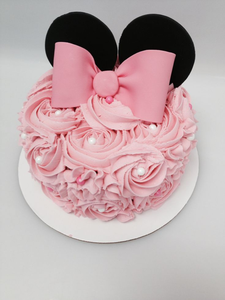 Mini Mouse smash cake!