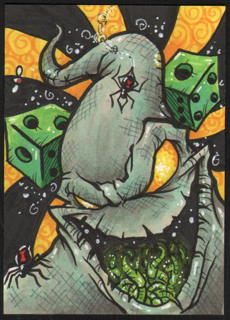 Oogie Boogie | Day 9 Oogie Boogie by ~Dreekzilla on deviantART