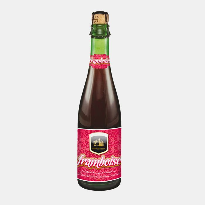 OUD BEERSEL FRAMBOISE 5%  Smooth, fruity framboise, with a bright real fruit flavour and a zippy tartness to the finish