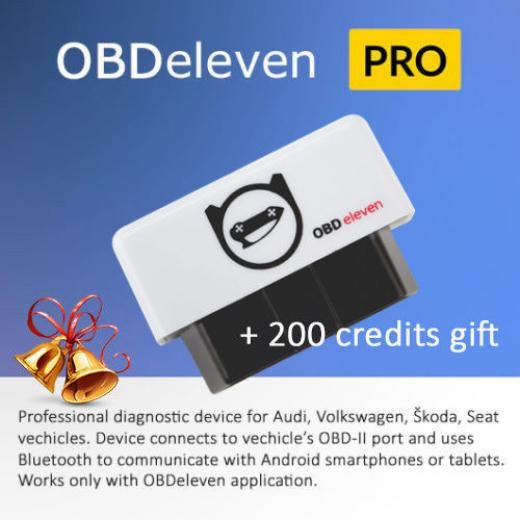 Obdeleven Pro Version Obd Diagnostic Tool For Audi Skoda Seat Vw