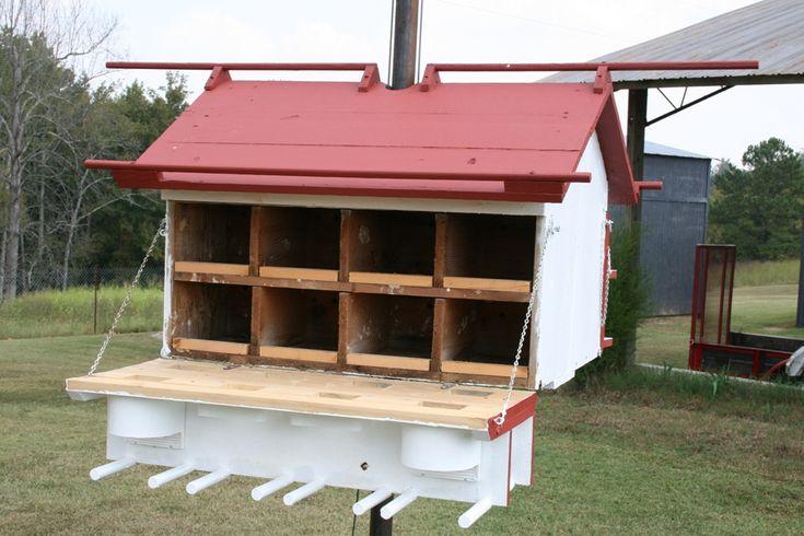 FREE E-book Purple Martin House Plans | Ontario Purple Martin