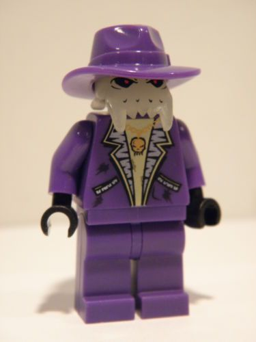 Space Police 3 Lego Minifigure Brick Daddy Alien in Purple Suit Great Condition | eBay
