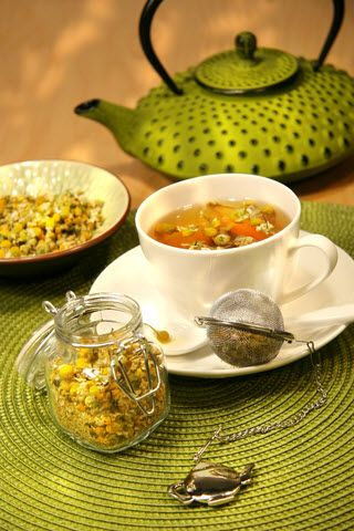 Chamomile tea the benefits