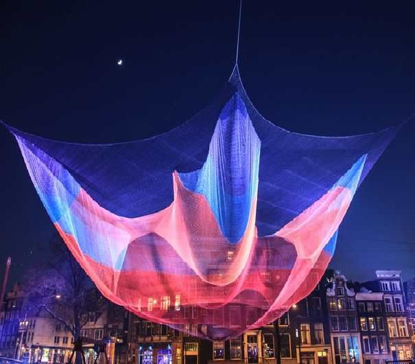 Amsterdam Light Festival (The Netherlands) - Join the only light festival you can experience from a boat from the 28th November 2015 - 17th January 2016. If you were thinking Amsterdam is only know for its coffee shops and red light district, this festival will definitely change your mind. - Want to discover more hidden gems in Europe? All of them can be found on www.broscene.com