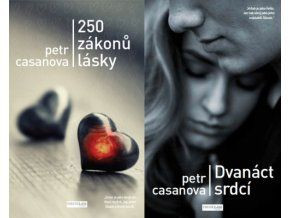 Sada knih Petra Casanovy - 250 zákonů lásky + Dvanáct srdcí