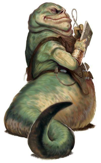 The Hutts were a sentient species of large gastropods with short arms, wide cavernous mouths and huge eyes, who controlled a large space empire in Hutt Space. The species was said to originally hail from the planet Varl, but no planet by that name appeared on any Imperial star charts. Their adopted homeworld was Nal Hutta. Members of this species were often stereotyped as crime lords.