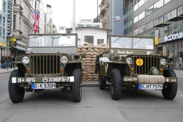 Willys MB 4x4s in Germany