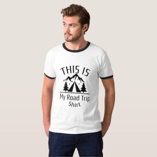 640785223 Road Trip Vintage Family Friends Vacation Gift T-Shirt $24.90 by Chevy_Art  smores #camping