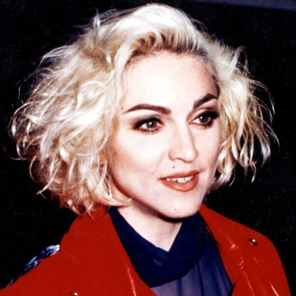 Beauty Look We Love: Blond Hair, Dark Brows #refinery29  http://www.pipeline.refinery29.com/blonde-hair-dark-eyebrow-trend#slide-16  MadonnaMadonna's full, dark brows and volumized bob are so '80s, in the best way. We all remember (and many of us have valiantly tried to emulate) this iconic look....