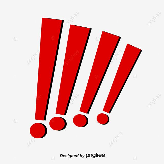 Exclamation Mark Vector Material Exclamation Point Vector Exclamation Point Red Exclamation Point Png Transparent Clipart Image And Psd File For Free Downloa Exclamation Mark Prints For Sale Birthday Background