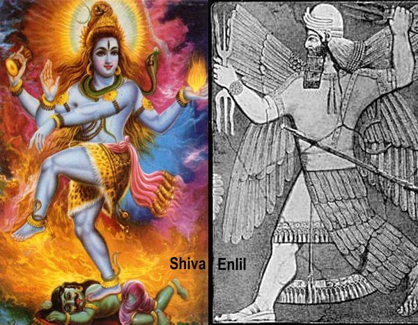 """Shiva matches too much with Enlil. In Sanskrit literature he's depicted as """"the One who is eternally pure"""" or """"the One who can never have any contamination of the imperfection of Rajas and Tamas"""". Enlil was the Anunnaki that hated the crossbreeding between his race and the humans. Shiva is the most feared god of Hindu cosmogony. He's the one that destroyed the """"three cities of Asura demons"""", that totally looks like Sodom, Gomorrah and the Babel Tower. He's the god that provide powerful…"""