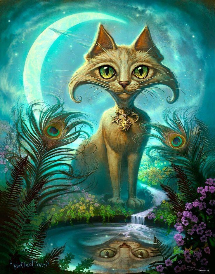 кошки фантастические картинки признать
