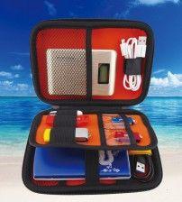 Adathordozó, HDD, Pendrive tároló, utazó táska